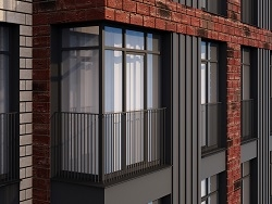 ЖК «Зорге 9». Бизнес-класс от 5 млн рублей Архитектура Нью-Йорка и всего в 10 мин